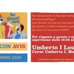Aperitivo con AVIS Mantova - sabato 12 settembre