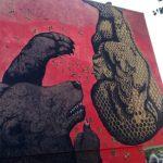 StreetArt a Lunetta con Federica Pradella